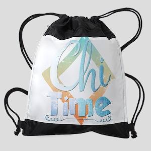 Chi Time Drawstring Bag