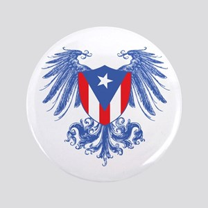 """Puerto Rico Wings 3.5"""" Button"""