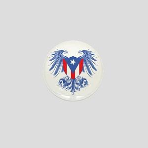 Puerto Rico Wings Mini Button