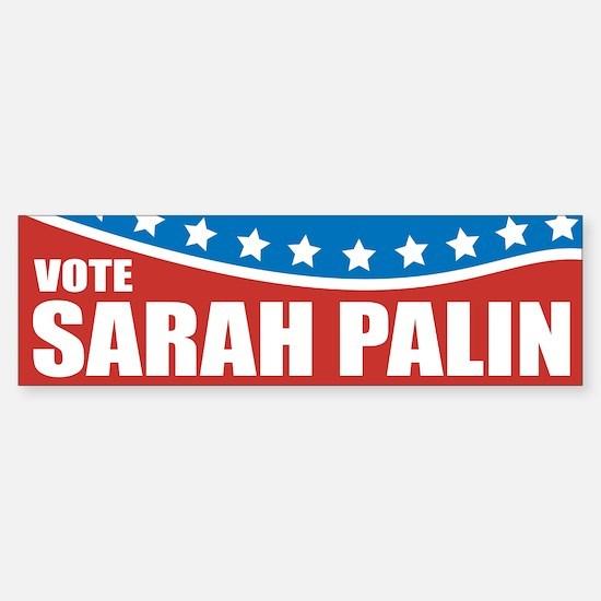Palin Red White Blue Bumper Bumper Bumper Sticker