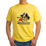 What Arrrgh Ya Lookin At? Yellow T-Shirt