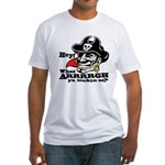 What Arrrgh Ya Lookin At? Fitted T-Shirt