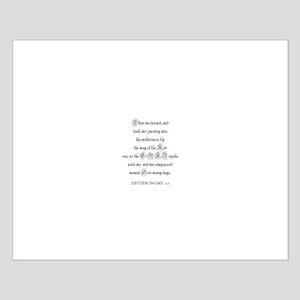 DEUTERONOMY  2:1 Small Poster