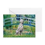 Bridge / Dalmatian #1 Greeting Card