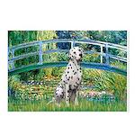 Bridge / Dalmatian #1 Postcards (Package of 8)