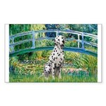 Bridge / Dalmatian #1 Sticker (Rectangle 50 pk)