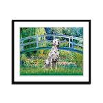 Bridge / Dalmatian #1 Framed Panel Print