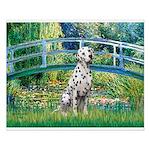 Bridge / Dalmatian #1 Small Poster