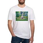 Bridge / Dalmatian #1 Fitted T-Shirt