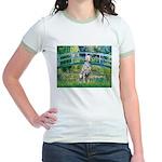 Bridge / Dalmatian #1 Jr. Ringer T-Shirt