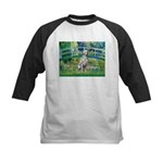 Bridge / Dalmatian #1 Kids Baseball Jersey