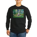 Bridge / Dalmatian #1 Long Sleeve Dark T-Shirt