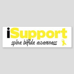 iSupport Spina Bifida Bumper Sticker