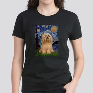 Starry / Lhasa Apso #9 Women's Dark T-Shirt