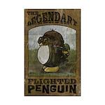Legendary Flighted Penguin Mini Poster Print