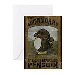 Legendary Flighted Penguin Greeting Cards (Pk of 2