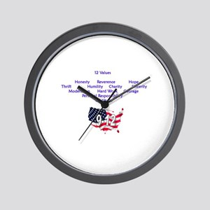 12 Values (9 Principles on re Wall Clock