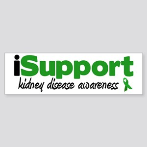 iSupport Kidney Disease Bumper Sticker