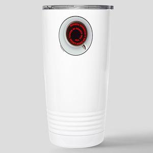 COFFEE/JAVA Stainless Steel Travel Mug