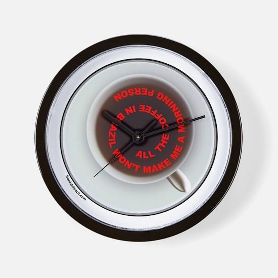 COFFEE/JAVA Wall Clock