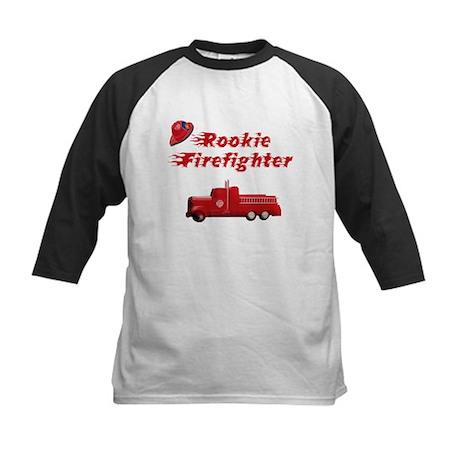 Rookie firefighter Kids Baseball Jersey