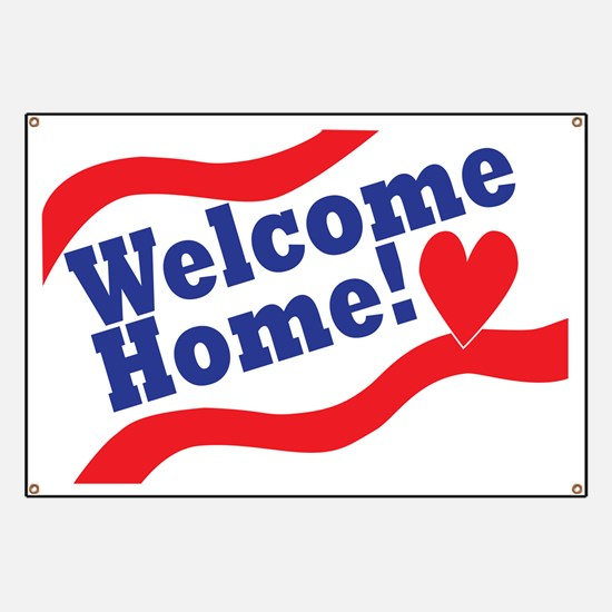 Welcome Home Giant Banner