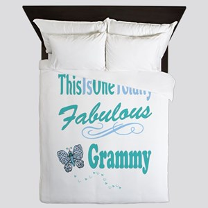 Fabulous Grammy Queen Duvet