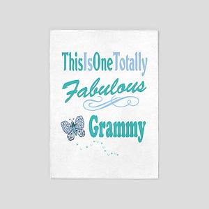 Fabulous Grammy 5'x7'Area Rug