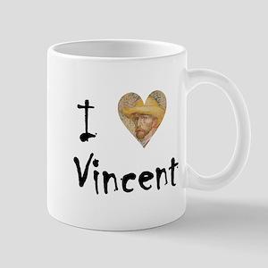 """I Love Vincent"" Mug"