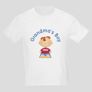 Grandma's Boy (Red Head) Kids Light T-Shirt