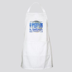 A bachelor is a guy who is footloose a Light Apron