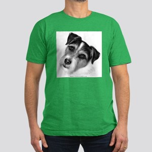 Jack (Parson) Russell Terrier Men's Fitted T-Shirt