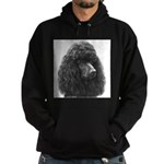 Black or Chocolate Poodle Hoodie (dark)
