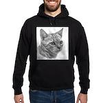 Bengal Cat Hoodie (dark)