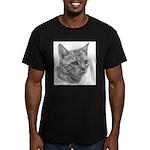 Bengal Cat Men's Fitted T-Shirt (dark)