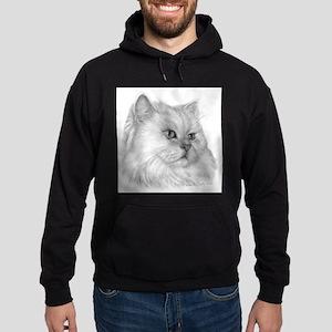 Persian Cat Hoodie (dark)