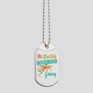 Fabulous Grammy Dog Tags