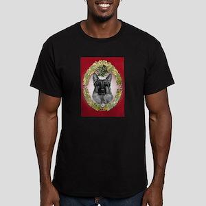 German Shepherd K9 Christmas Men's Fitted T-Shirt