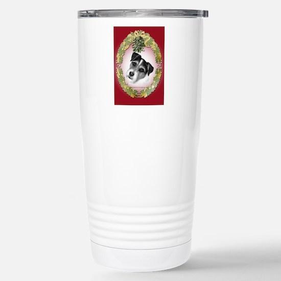 Jack Russell Terrier Stainless Steel Travel Mug