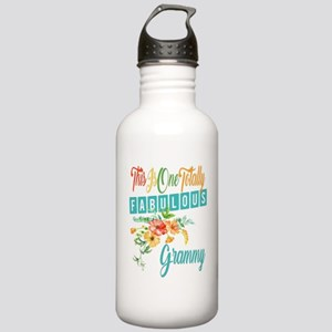 Fabulous Grammy Stainless Water Bottle 1.0L