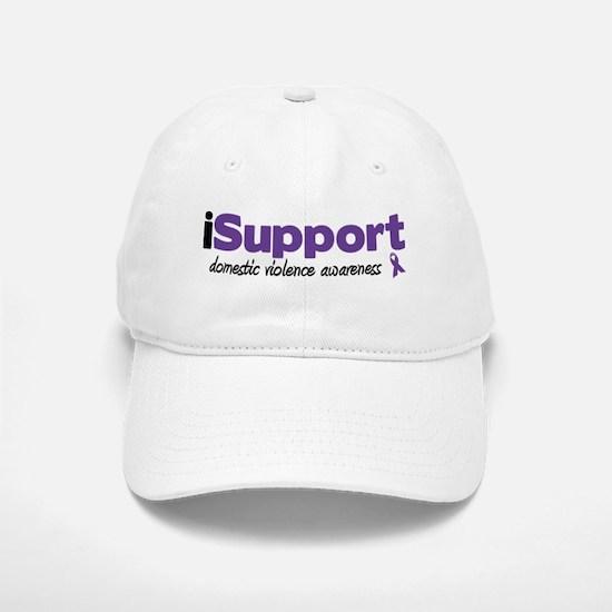 iSupport Domestic Violence Baseball Baseball Cap