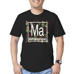 Mathematician Retro Men's Fitted T-Shirt (dark)