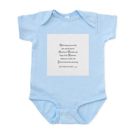 DEUTERONOMY 4:47 Infant Creeper