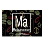 Mathematician Retro Postcards (Package of 8)
