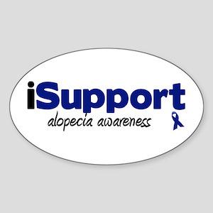 iSupport Alopecia Oval Sticker