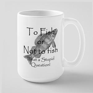 To Fish or Not to Fish Large Mug