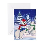 Snow_Bears_5x7 Greeting Cards
