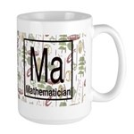 Mathematician Retro Large Mug