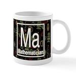 Mathematician Retro Dark Mug