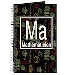 Mathematician Retro Journal